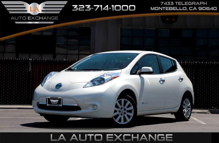 Sold 2015 Nissan Leaf S In Montebello