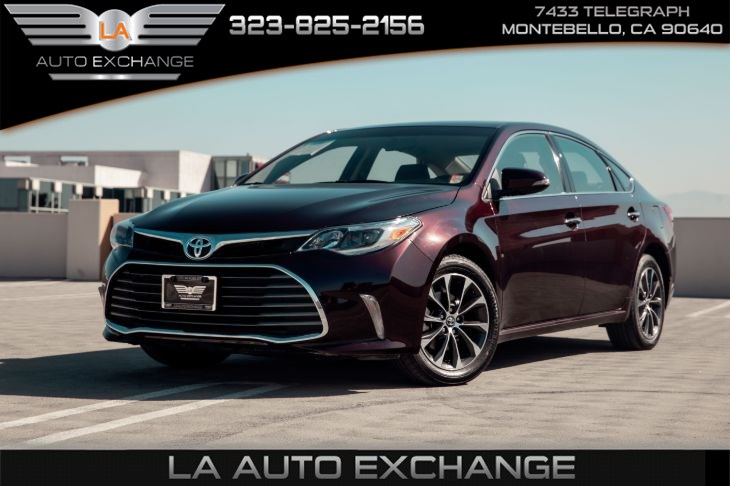 2016 Toyota Avalon XLE (Back-Up Camera & Bluetooth Connection)