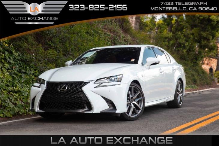 Is 350 F Sport >> 2016 Lexus Gs 350 F Sport La Auto Exchange