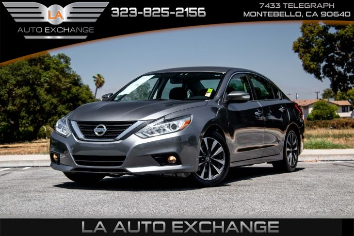 2016 Nissan Altima 2.5 SL (Heated Steering wheel & Nissan Connect)