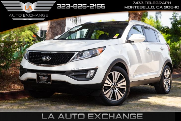 2015 Kia Sportage (EX premium pkg & back-up camera)