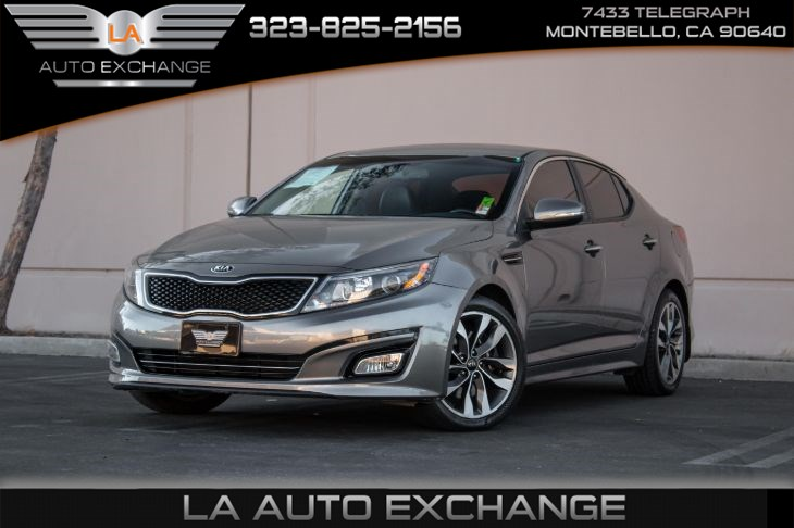 2015 Kia Optima SX (Bluetooth & Leather Seats)