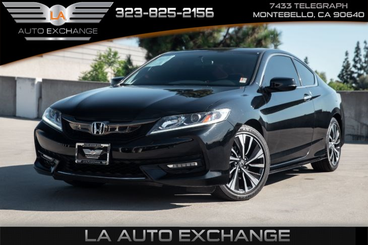 2016 Honda Accord Coupe EX (sunroof & back-up camera)