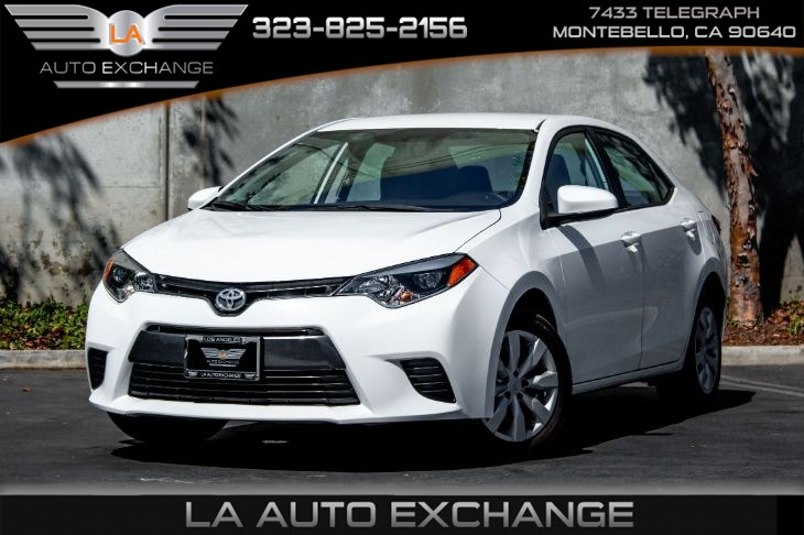 2016 Toyota Corolla LE (Protection Package & Back-Up Camera)