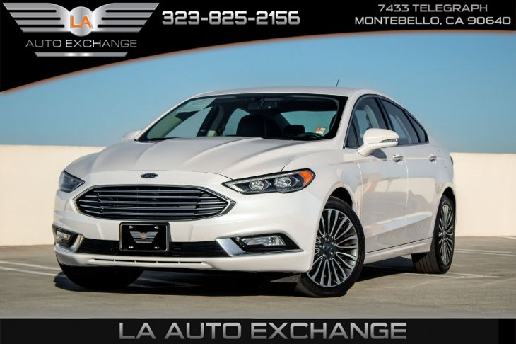 2017 Ford Fusion LUXURY PACKAGE SE (SE technology pkg & reverse sensing system)