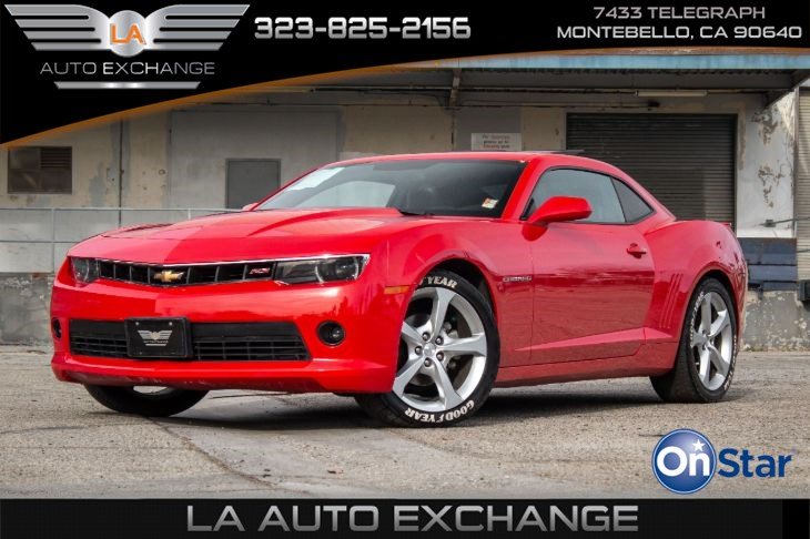 2015 Chevrolet Camaro RS (RS Package & Navigation)