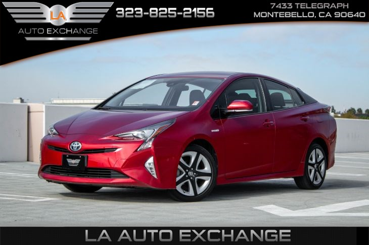 2016 Toyota Prius Three Touring (Lower Console/Shifter Applique Pkg)