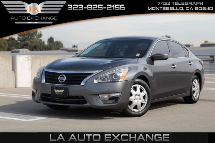 2015 Nissan Altima 2.5 S (display audio pkg & power driver seat pkg)