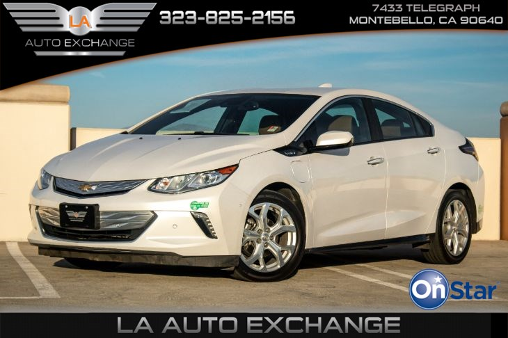 2017 Chevrolet Volt Premier (Driver Confidence Package II & Bluetooth)