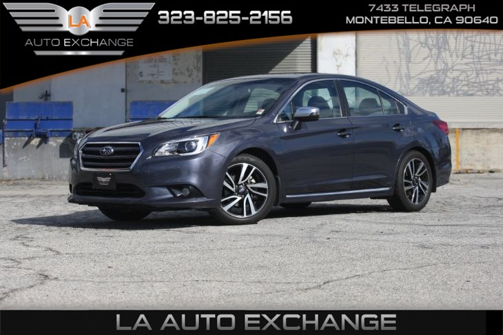 2017 Subaru Legacy Sport (popular package #2 A & back-up camera)