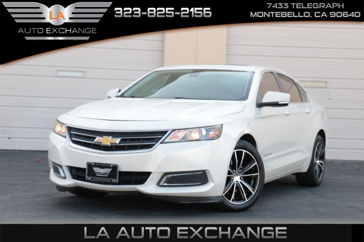 2014 Chevrolet Impala LT (Black-Up Camera & Sunroof)