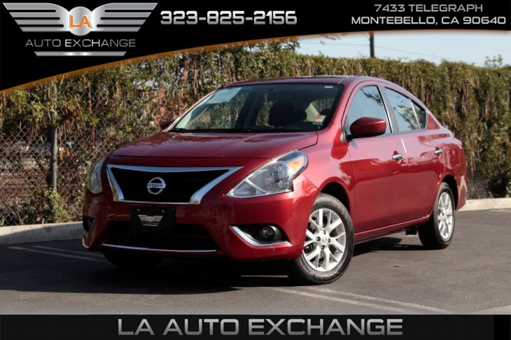 2018 Nissan Versa Sedan SV (SV special edition pkg & back-up camera)