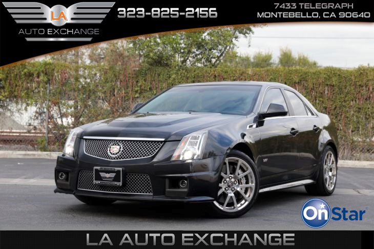 2013 Cadillac CTS-V Sedan ( APPEARANCE PACKAGE)