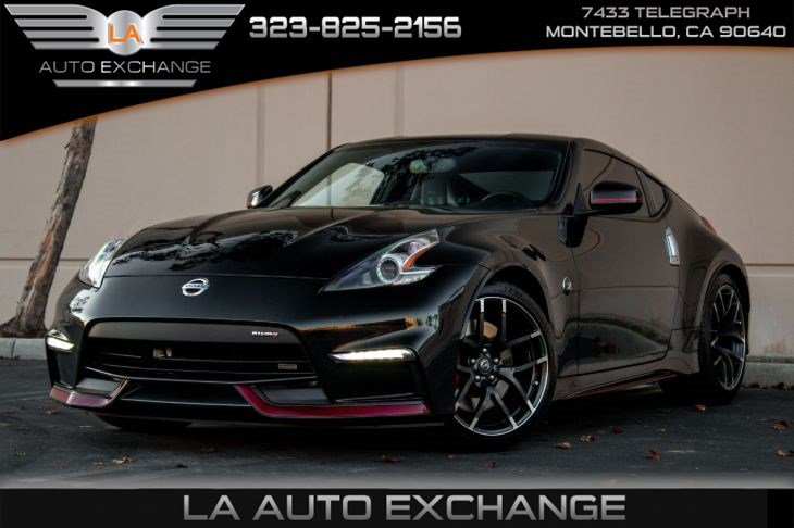 2016 Nissan 370Z NISMO Tech (Recaro leather seats & navigation)