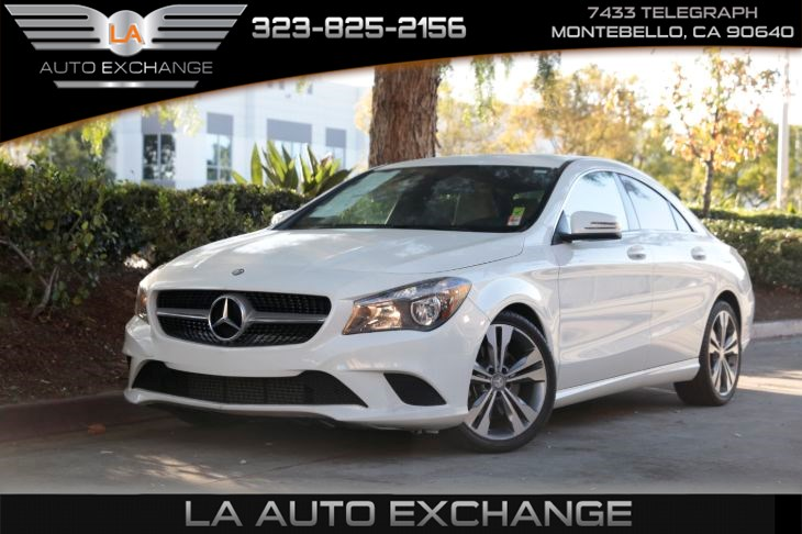 2015 Mercedes-Benz CLA 250 Coupe (Keyless Start & Cruise Control)