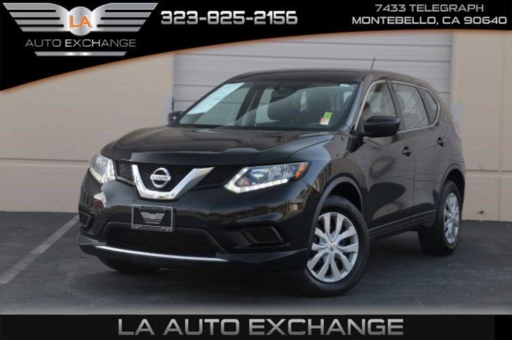 2016 Nissan Rogue S (BT connection & back-up camera)