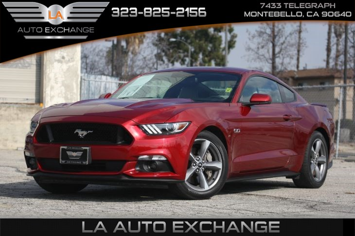 2015 Ford Mustang GT (SHAKER PRO AUDIO SYS &  6-SPEED SELECTSHIFT)