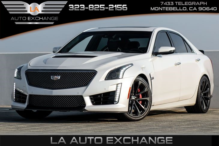 2017 Cadillac CTS-V Sedan (Recaro Seats & Carbon Black Package)