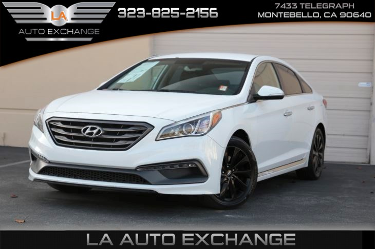 2016 Hyundai Sonata 2.4L Sport (Premium pkg & BT connection)