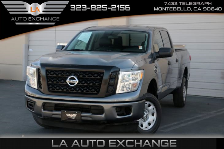 2017 Nissan Titan XD S (A/C & Bluetooth Connection)