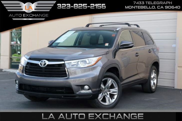 2016 Toyota Highlander Limited (a/c & back-up camera)