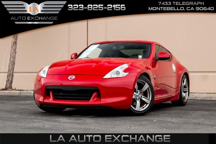 2009 Nissan 370Z Touring (Push-To-Start & A/C)