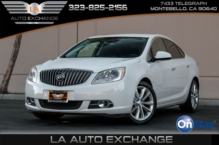 2015 Buick Verano Leather Group (Push To Start & Back-Up Camera)