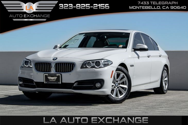 2016 BMW 5 Series 528i (Bluetooth & Back-Up Camera)