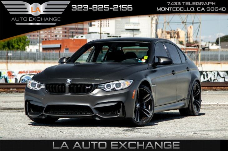 2016 BMW M3 (M Double Clutch Transmission & Moonroof)