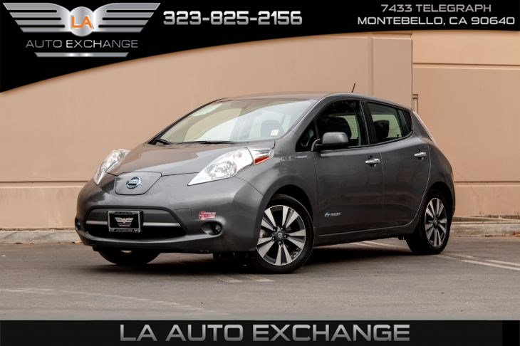2017 Nissan LEAF SV (Bluetooth & Back-Up Camera)
