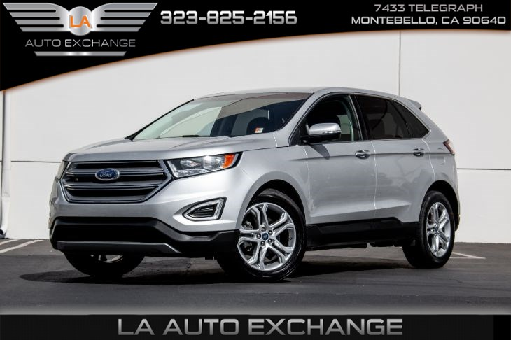 2018 Ford Edge Titanium (Technology Package & Navigation)