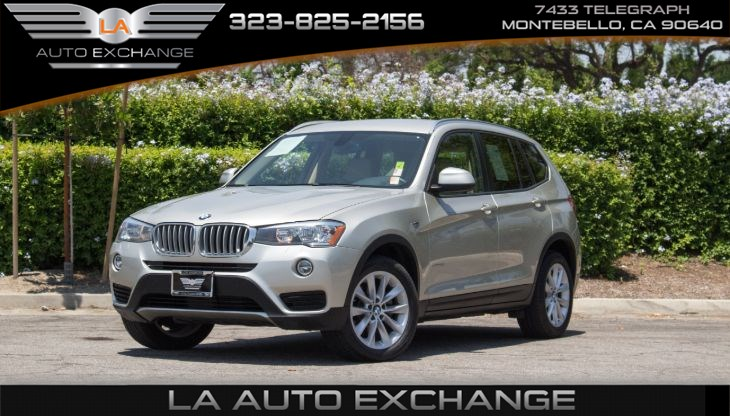 2016 BMW X3 xDrive28d (Navigation & Automatic Lights)