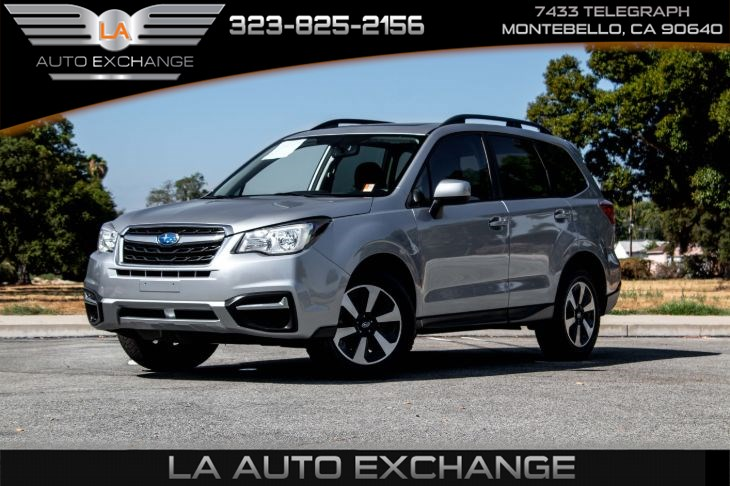 2017 Subaru Forester Premium (Back-Up Camera & All Weather Package)