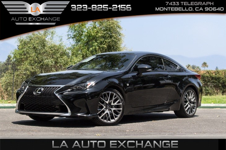 2017 Lexus RC Turbo (F Sport Package & Navigation System)