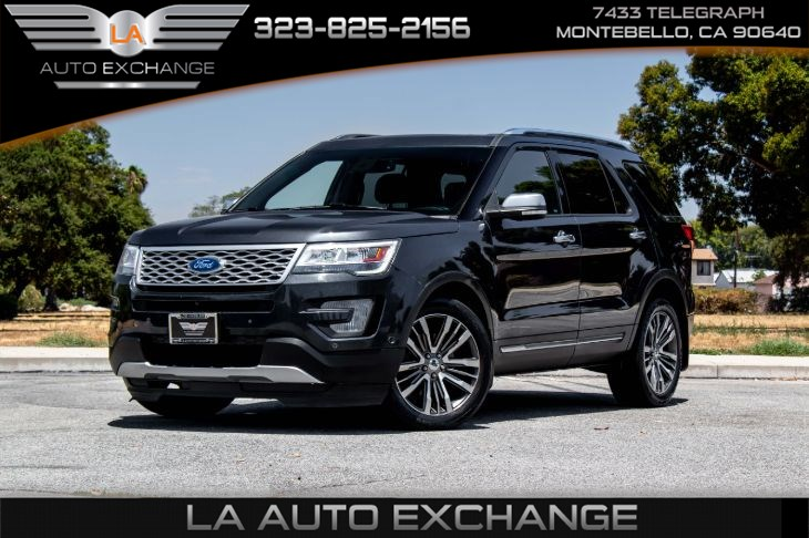 2017 Ford Explorer Platinum (Back-Up Camera & Heated/Cool Seats)