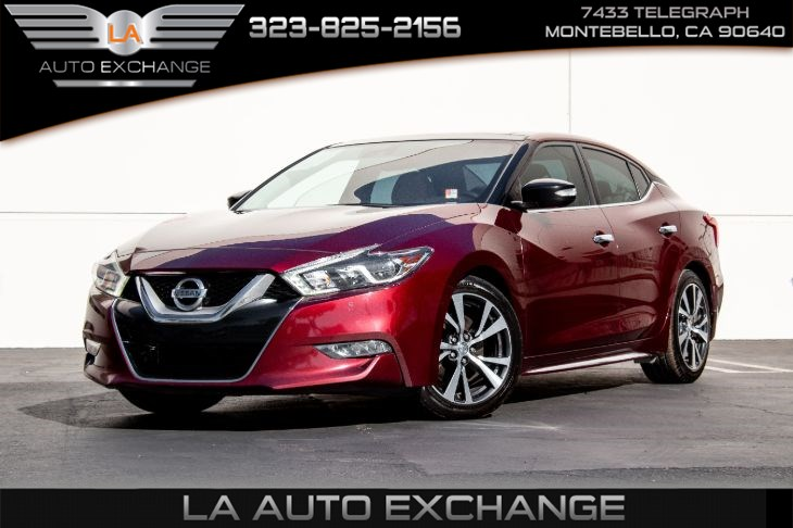 2017 Nissan Maxima Platinum (Navigation & Heated/cool Seats)