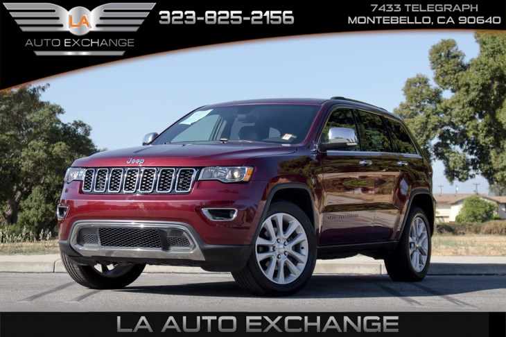 2017 Jeep Grand Cherokee Limited (Moonroof & Bluetooth )