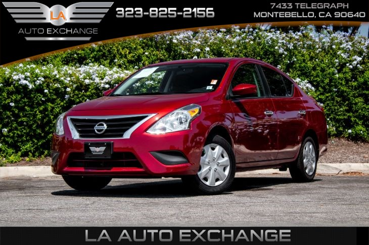 2019 Nissan Versa Sedan SV (Back-Up Camera & Bluetooth)