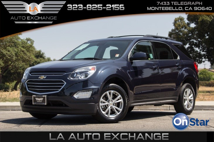 2017 Chevrolet Equinox LT (4G LTE Hotspot & Backup Camera)