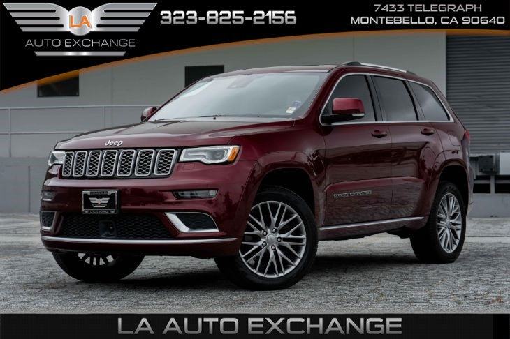 Used 2017 Jeep Grand Cherokee Summit Navigation Back Up Camera In Montebello