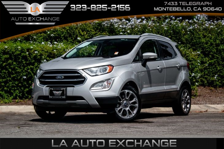 2018 Ford EcoSport Titanium (Navigation & Back-Up Camera)