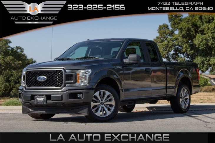 2018 Ford F-150 XL (EcoBoost & STX Appearance Packege)
