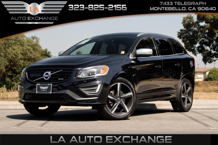 2015 Volvo XC60 T6 R-Design Platinum (Navigation & Backup Camera)