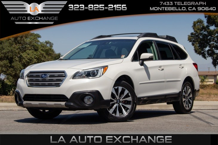 2017 Subaru Outback Limited (Heated Front / Back Seats &  Sunroof)