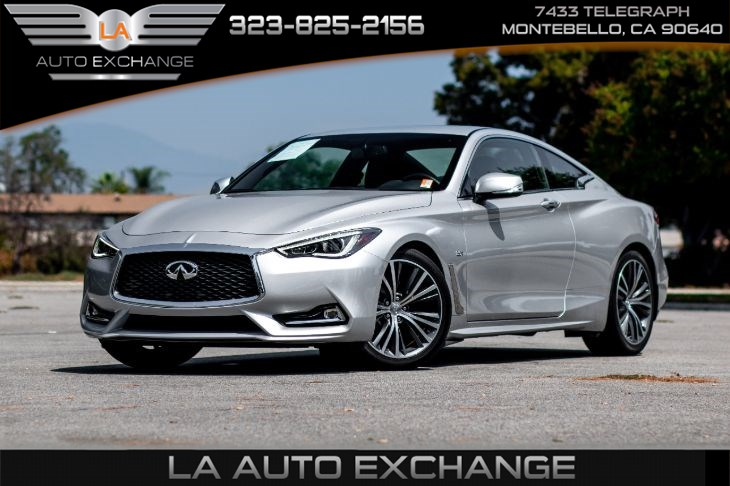 2017 INFINITI Q60 3.0t Premium (Premium Plus Package & Bluetooth)