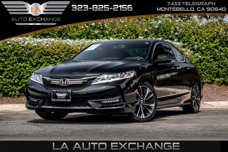 2017 Honda Accord Coupe EX-L V6 (Heated Front Seats & Back-UP Camera)