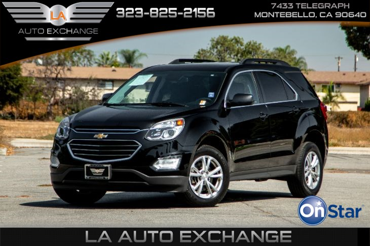 2017 Chevrolet Equinox LT (Convenience Package & Heated Seats)