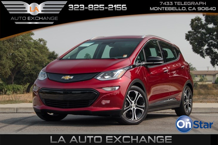 2017 Chevrolet Bolt EV Premier (Backup Camera & Bluetooth)