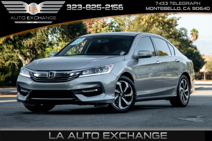 2017 Honda Accord Sedan EX-L (Back-Up Camera & Heated Front Seats)