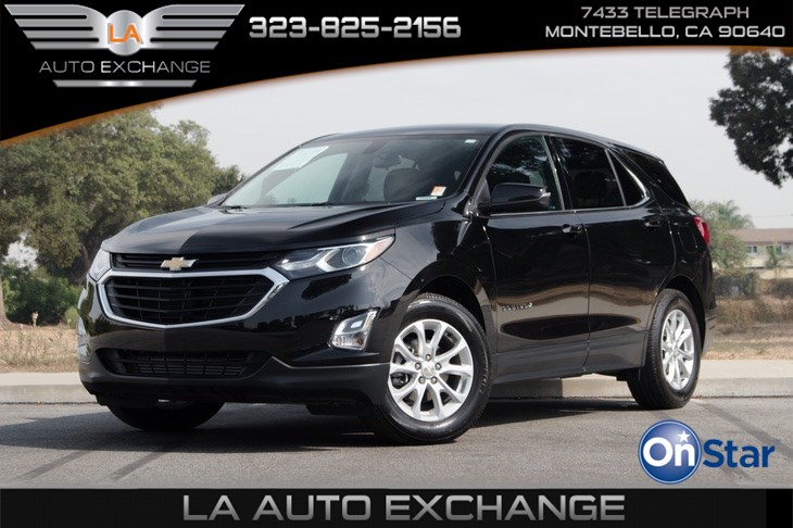 2018 Chevrolet Equinox LTN (Backup Camera & Push Start)